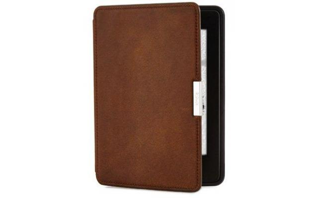 Amazon Kindle premium leather case